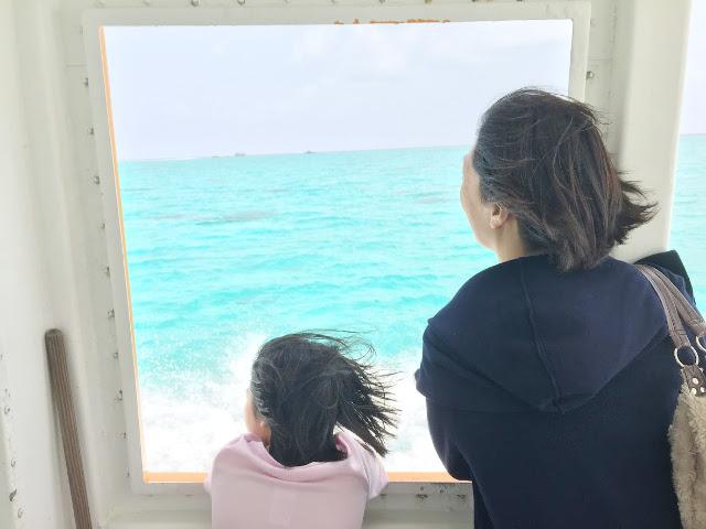 はいむるぶし・石垣島・小浜島への家族旅行の高速船