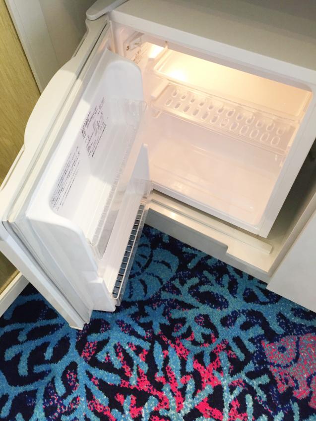 ホテル・ユニバーサルポートの冷蔵庫