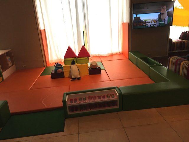 ロビー子供遊べる場所